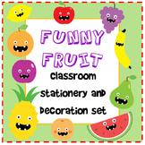 Funny Fruit Classroom Decór Pack