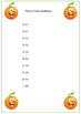 Funny Fruits Addition Pages