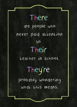 Funny Grammar Posters