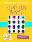 Funny Hair Theme Day Plan Sample - FREEBIE