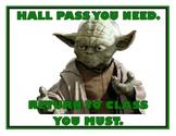 Funny Hall Passes