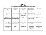 Funny Ice-Breaker Bingo