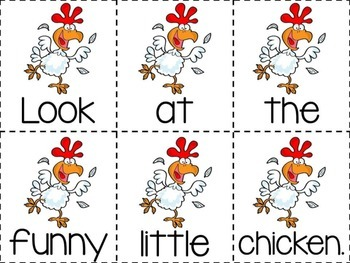 Funny Little Animals Emergent Reader & Centers