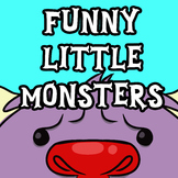 Funny Little Monsters (Monster Clip Art)
