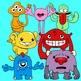 Funny Little Monsters (Monster Clip Art)