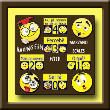 Funny Marzano Scales in Portuguese