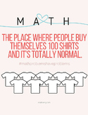 Funny Math Poster
