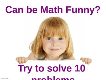 Funny Math and Logic