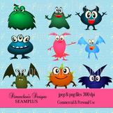 Funny Monster Clipart