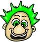 Funny Mood Man Faces Clip Art