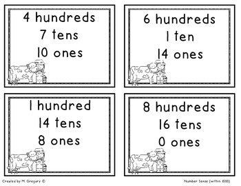 Funny Numbers on the Funny Farm (Building Number Sense)