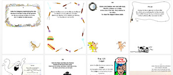 Funny Phonetic Poetry Posters Activity Project Booklet