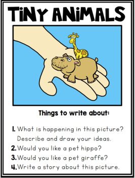 Funny Picture Writing Prompts {Differentiated) Whimsy Workshop Teaching