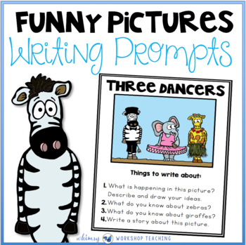 funny picture writing prompts and writing templates by whimsy