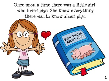 FUNNY PIG Book: INTERACTIVE