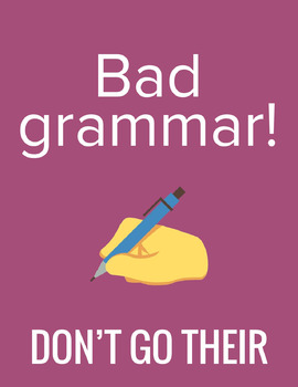 Funny Posters for English Classrooms