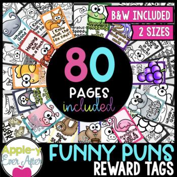 Funny Punny BRAG TAG Set # 2