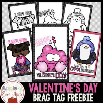 Valentine's Day Brag Tag Freebie