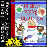 Readers' Theater Poetry ~ Reading Fluency Poems & Word Work: Grades 3, 4, 5 & 6
