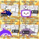 Funny Reading - 4 VIDEOBOOKS - Bundle