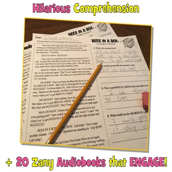 Funny Reading Comprehension Passages and Questions: Fall Reading Comprehension