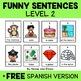 Funny Sentence Building Centers Bundle
