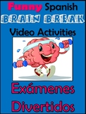 Fun Spanish Brain Break Video Activities -Emoji, Superpower, Talent, Pet, House