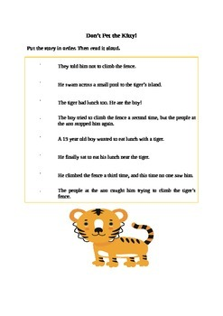 Funny Story Sequencing Set of 3