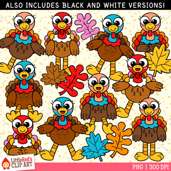 Funny Thanksgiving Turkey Clip Art