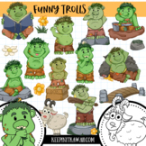 Funny Trolls Clip Art Collection