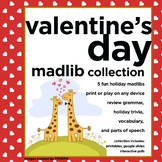 Funny Valentine's Day Mad Lib Collection ***printables, Go