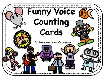 Funny Voice Counting Cards