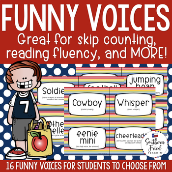 Skip Counting & Reading Fluency in Funny Voices