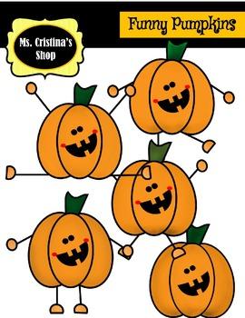 Funny and Happy Pumpkins