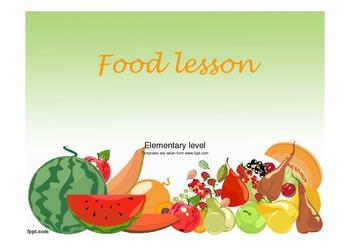 Funny food-healthy food