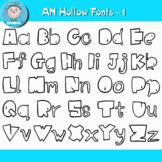 Funny hollow font -1 ( Asunboy Fonts )