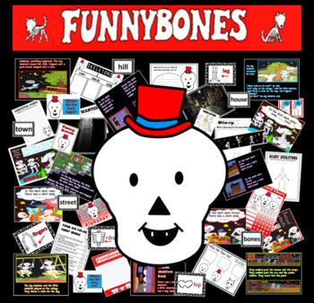 Funnybones story resources ourselves literacy display bones science