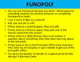 Funopoly Reward Board