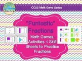 """""""Funtastic"""" Fractions: Fraction Games, Activities, and Skill Sheets"""