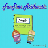 Funtime Arithmetic Review for Pre-K Numbers 11-20 (Full Le