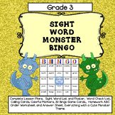 Sight Word Bingo for Grade 3 (Complete Lesson Plan Included)