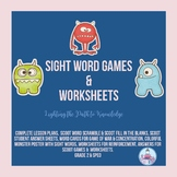 Sight Word Activities including SCOOT Games (Grade 2)