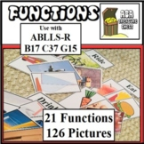 Functions of Objects, Autism, ABA ABLLS-R B17, C37, G15