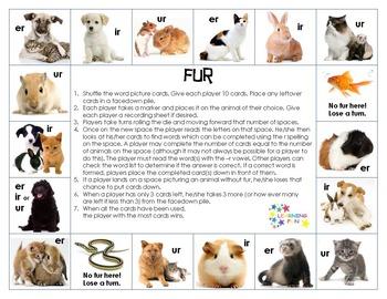 Fur: A game of -er, -ir, -ur