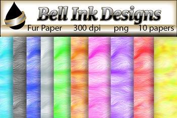 Fur Paper Clipart