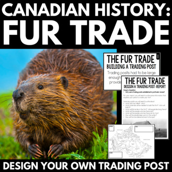 Fur Trade Canada Inquiry Project Unit- Design a Hudson's Bay Company Fort