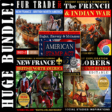 Fur Trade Bundle SALE!⭐European Explorers ⭐Jacques Cartier⭐ French & Indian War