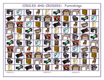 Furnishings Mega Connect 4 game