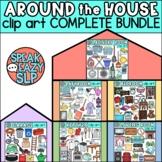 Furniture & Around The House Clip Art BUNDLE • SpeakEazySLP