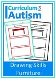 Furniture Drawing Skills Autism Fine Motor